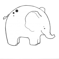 animali elefante trasp